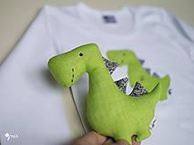 Hračky - Dino REX (zelený) - 12423646_