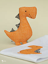 Hračky - Dino REX (oranžový) - 12423686_