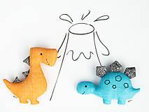 Hračky - Dino STEGOSAURUS (tyrkysový) - 12423755_