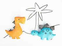 Hračky - Dino STEGOSAURUS (tyrkysový) - 12423761_