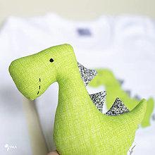 Hračky - Dino REX (zelený) - 12423668_