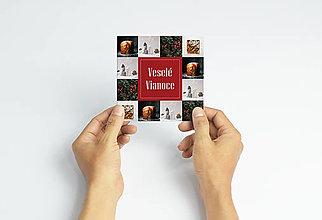 Papiernictvo - Vianočná pohľadnica I. - 12423460_