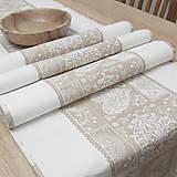 Úžitkový textil - JULIANA - stredový obrus (130 cm x 40 cm) - 12422730_