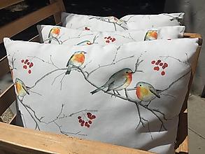 Úžitkový textil - sýkorky .....obliečky na vankúš - 12422687_