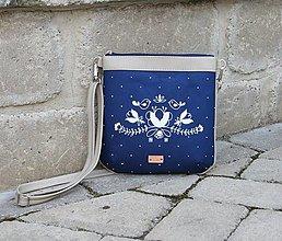 Kabelky - modrotlačová kabelka Dara AM5 - 12424905_