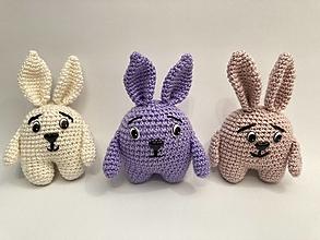 Hračky - zajac ušatý/ háčkovaná hračka - 12425867_