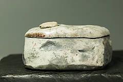 Nádoby - RAKU dóza - 12427969_