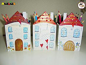 Detské doplnky - Stojany - na ceruzky - 12429914_