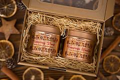 Darčeková sada sviečok zo 100% sójového vosku v plechovke Rosegold