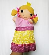 Maňuška princezná - v žlto motýlikovej sukienke
