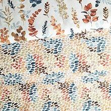 Textil - akvarelové machuľky II, 100 % predzrážaná bavlna Španielsko, šírka 150 cm - 12428074_