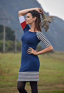 Šaty - Šaty Blue Sails - 12427709_