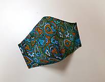 Rúška - Dizajnové bavlnené rúško - 12430860_