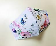 Rúška - Dizajnové bavlnené rúško - 12430875_