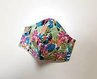 Rúška - Dizajnové bavlnené rúško - 12430882_