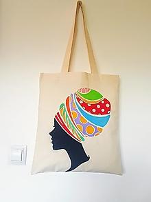 Nákupné tašky - •ručne maľovaná plátená taška• - 12428417_