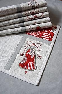 Úžitkový textil - Vianočné prestieranie No.31 :) - 12430956_