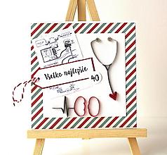 Papiernictvo - blahoželanie na želanie - 12428823_