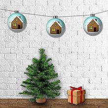 Dekorácie - Vianočná girlanda - gule - 12428241_