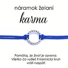 Náramky - náramok želaní Karma - 12432254_