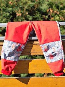 Detské oblečenie - Softshellky s líštičkami v 98 skladom - 12433271_