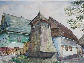 Obrazy - Vlkolínec - 12431893_