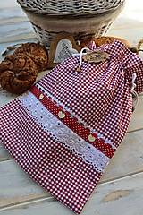 Úžitkový textil - Vidiecke vrecko na pečivo - 12432783_