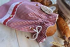 Úžitkový textil - Vidiecke vrecko na pečivo - 12432784_
