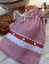 Úžitkový textil - Vidiecke vrecko na pečivo - 12432785_