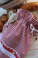 Úžitkový textil - Vidiecke vrecko na pečivo - 12432787_