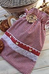 Úžitkový textil - Vidiecke vrecko na pečivo - 12432790_