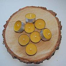 Svietidlá a sviečky - Čajová sviečka - 12436276_