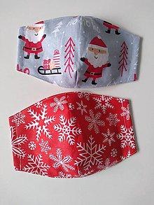 Rúška - Vianočné rúška - 12433409_