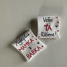 Obuv - Maľované ponožky pre najlepšiu MAMKU a BABKU - 12435956_