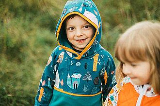 Detské oblečenie - Detská mikina Medveď - 12432174_