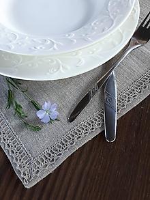 Úžitkový textil - Ľanové prestieranie Pure - 12435675_