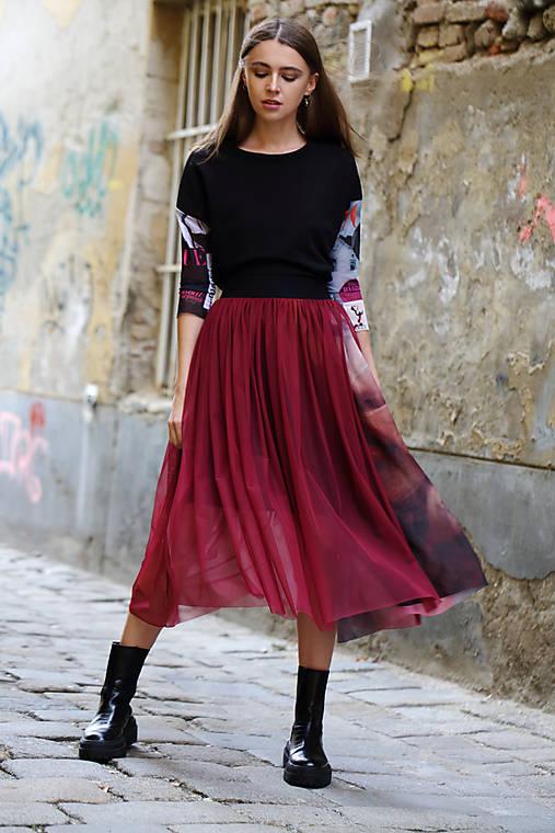 Tylová sukňa Fantázia