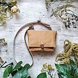 Kabelky - Kabelka DINKY bag - bronzová hnedá - 12439318_