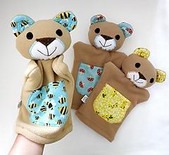 Hračky - Maňuška medvedík - na objednávku - 12440496_