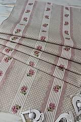 Úžitkový textil - Štóla-ružička - 12439504_