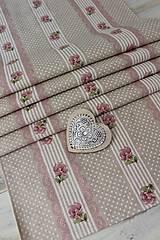 Úžitkový textil - Štóla-ružička - 12439509_