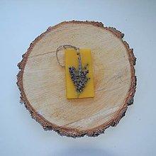 Dekorácie - Vonný vosk v krabičke (obdĺžnik levanduľa) - 12438467_