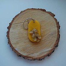 Dekorácie - Vonný vosk v krabičke (ovál ruža) - 12438475_