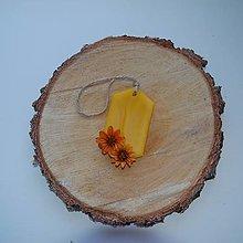Dekorácie - Vonný vosk v krabičke (6- uholník prirodzená vôňa vosku) - 12438500_