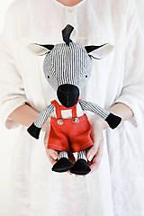 Hračky - Zebra Vera - 12438054_