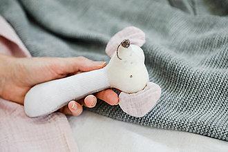 Hračky - Hrkálka myška - 12437573_