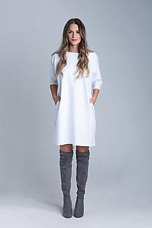 Šaty - Teplákové minišaty - 12437567_