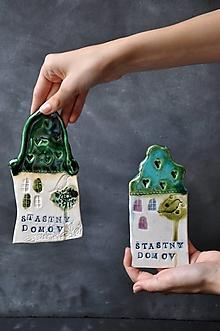 Obrázky - obrázok domček s nápisom šťastný domov - 12438010_