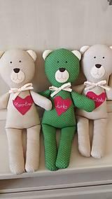 Hračky - Medvedík s menom podľa želania ♥ - 12439206_