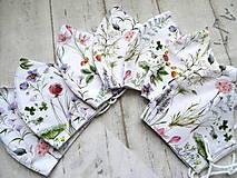 Rúška - Bavlnené rúška... dámske (Letné vetvičky) - 12443576_